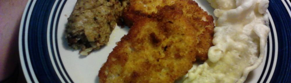 Pan Fried Breaded Pork Chop