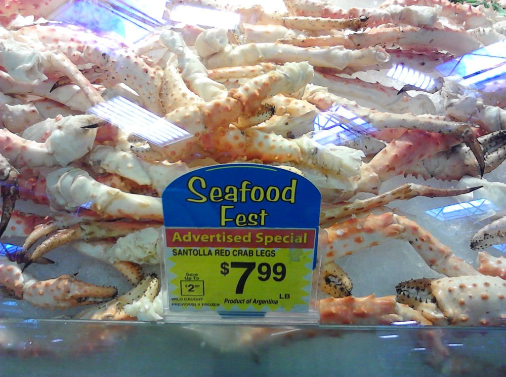 Budget Santolla Red Crab Legs