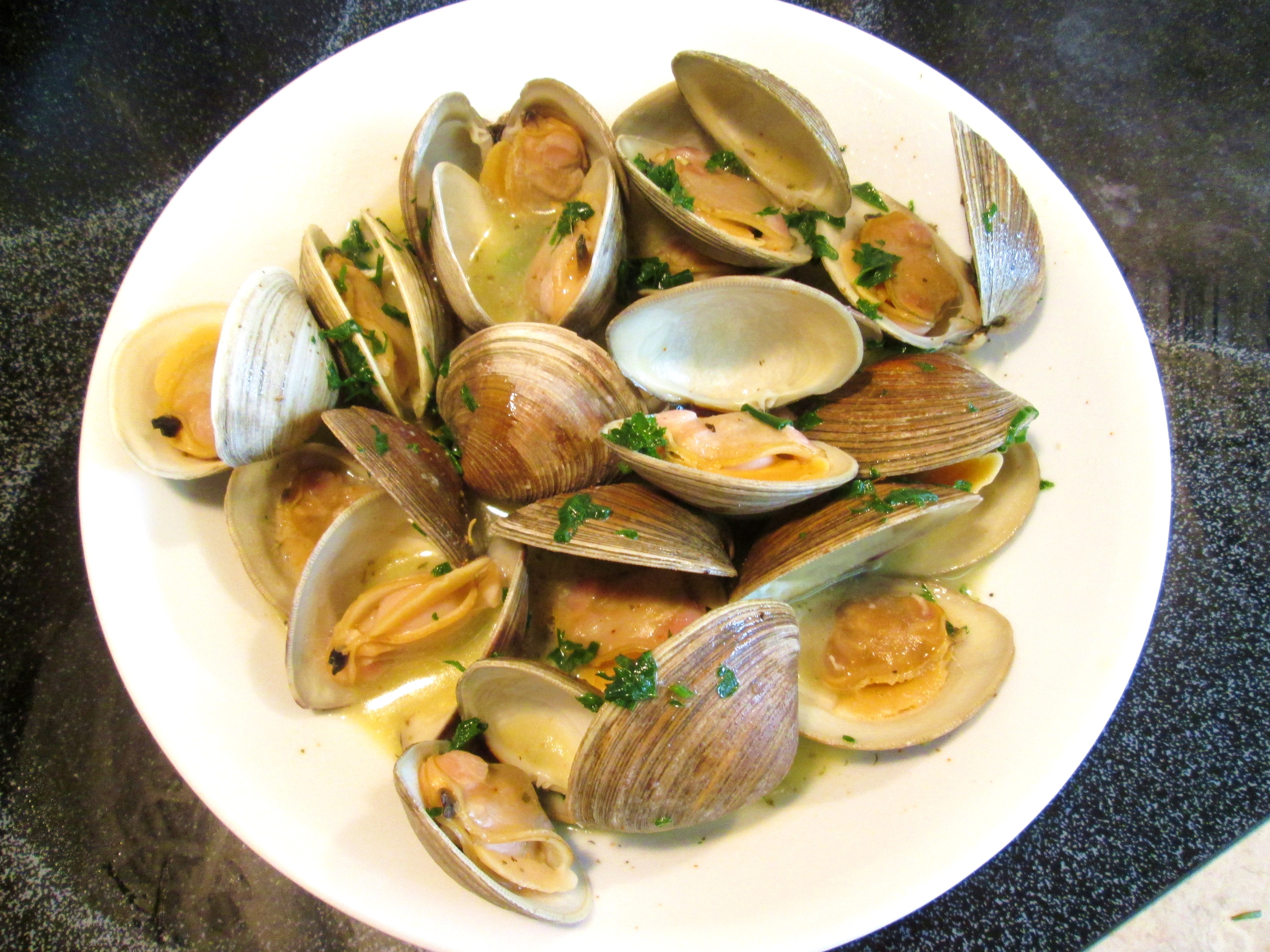 Next Up: Steamed Clams