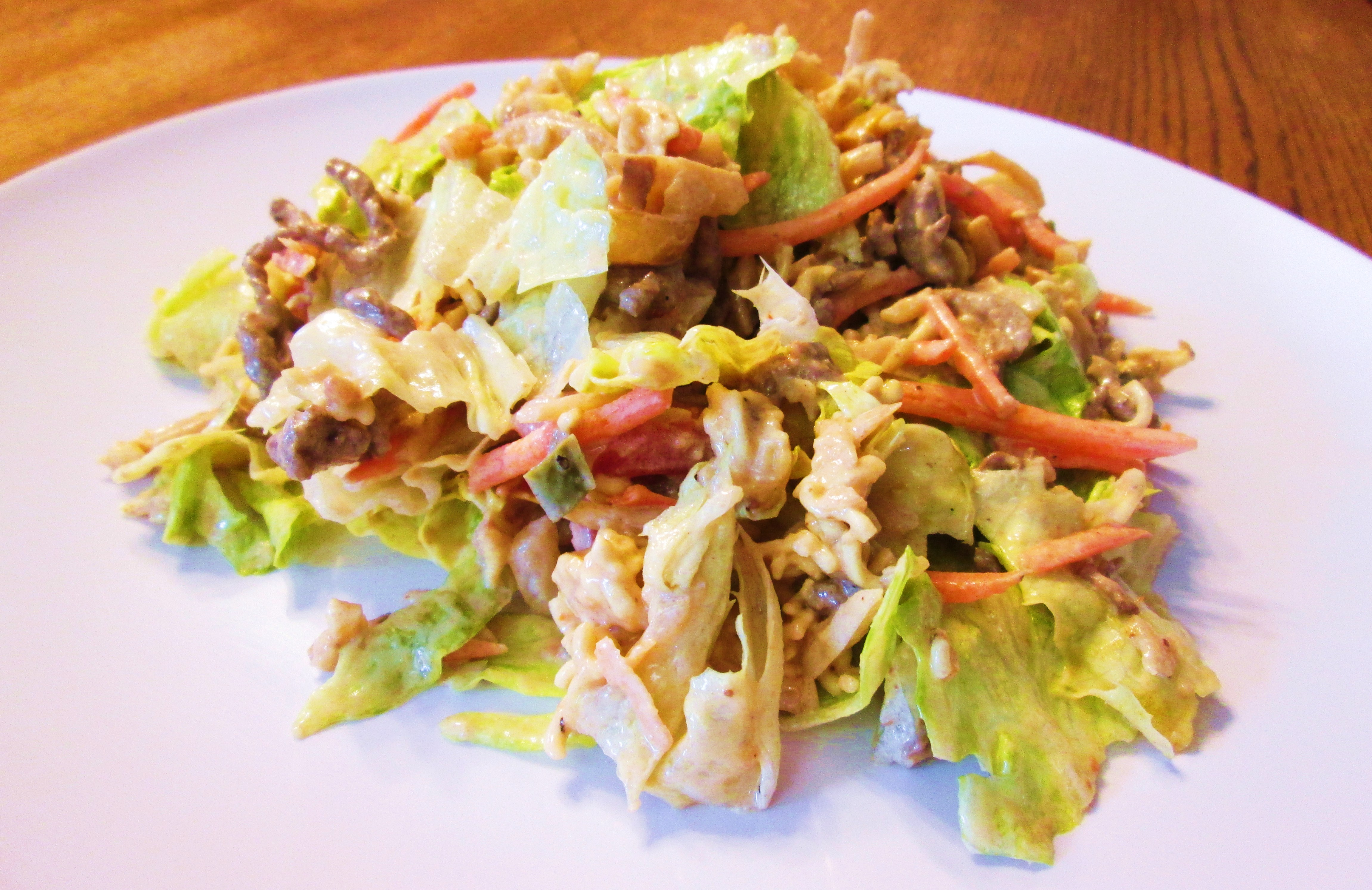 Oriental Salad with Dressing