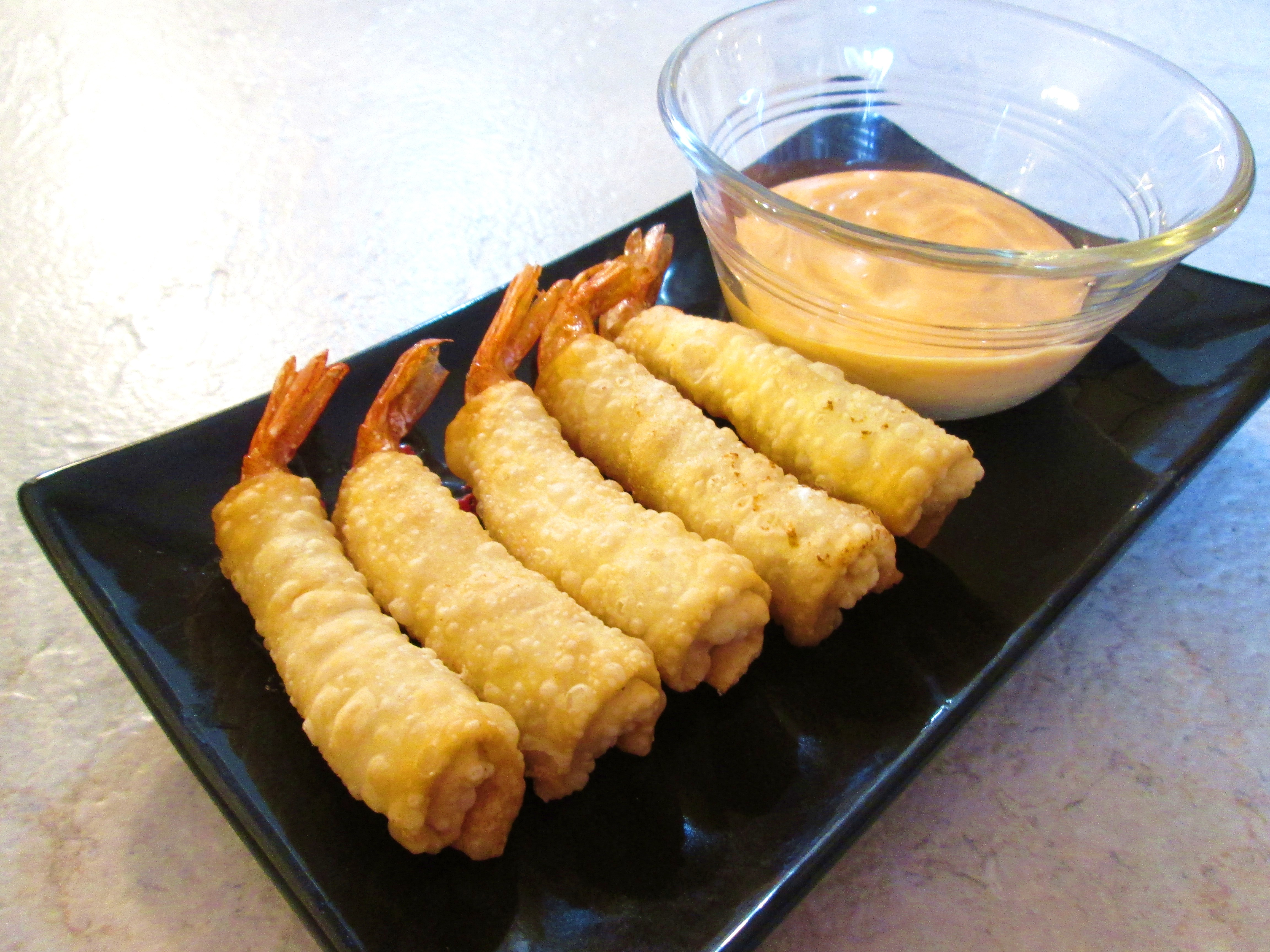 Firecracker Shrimp with Spicy Mayo