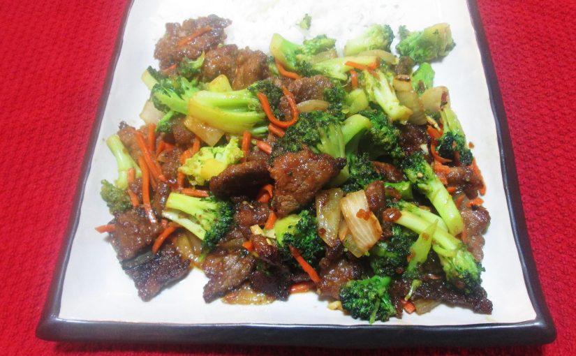 Beef and Broccoli with Teriyaki
