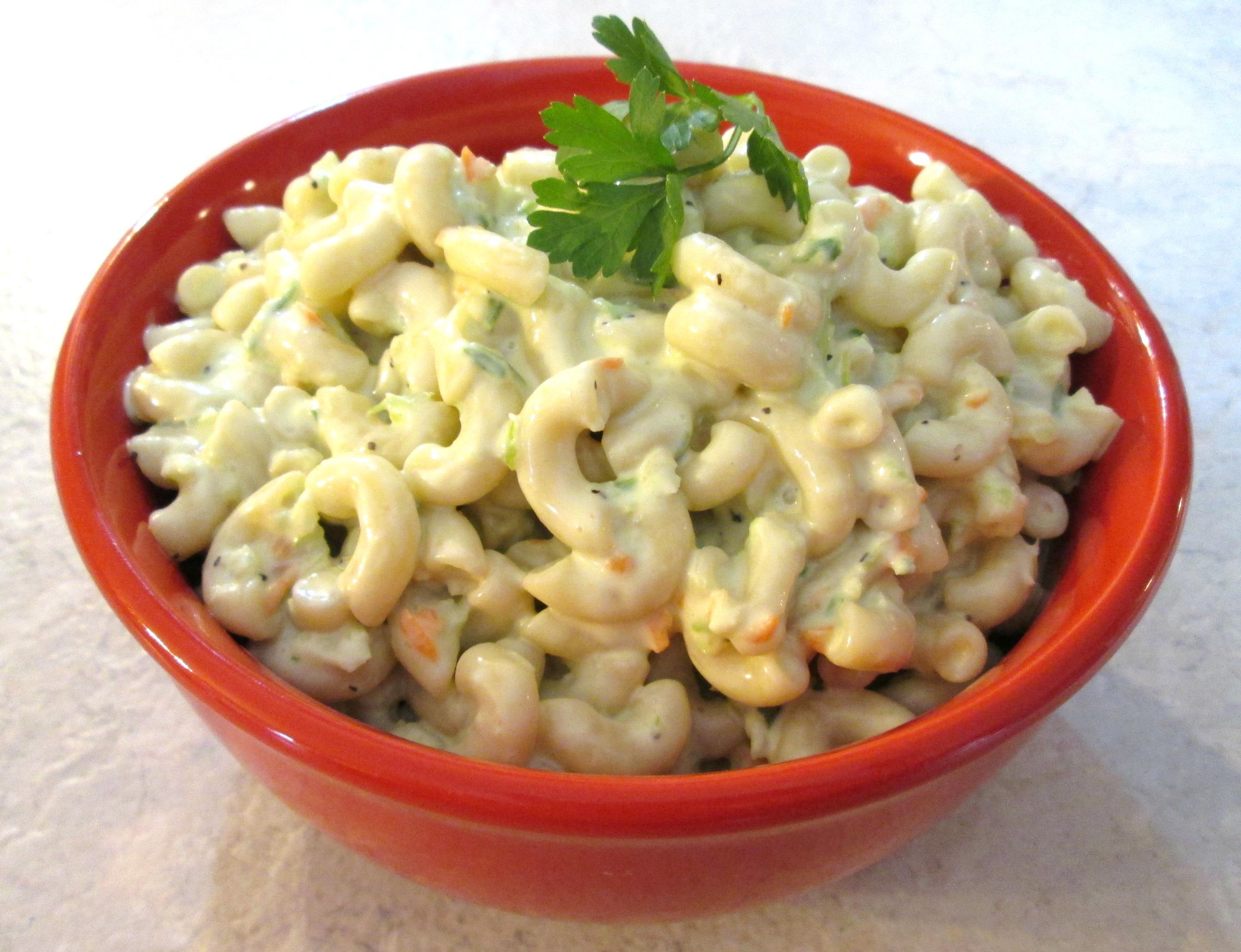 Macaroni Salad – Hawaiian Style Cold Noodle Salad
