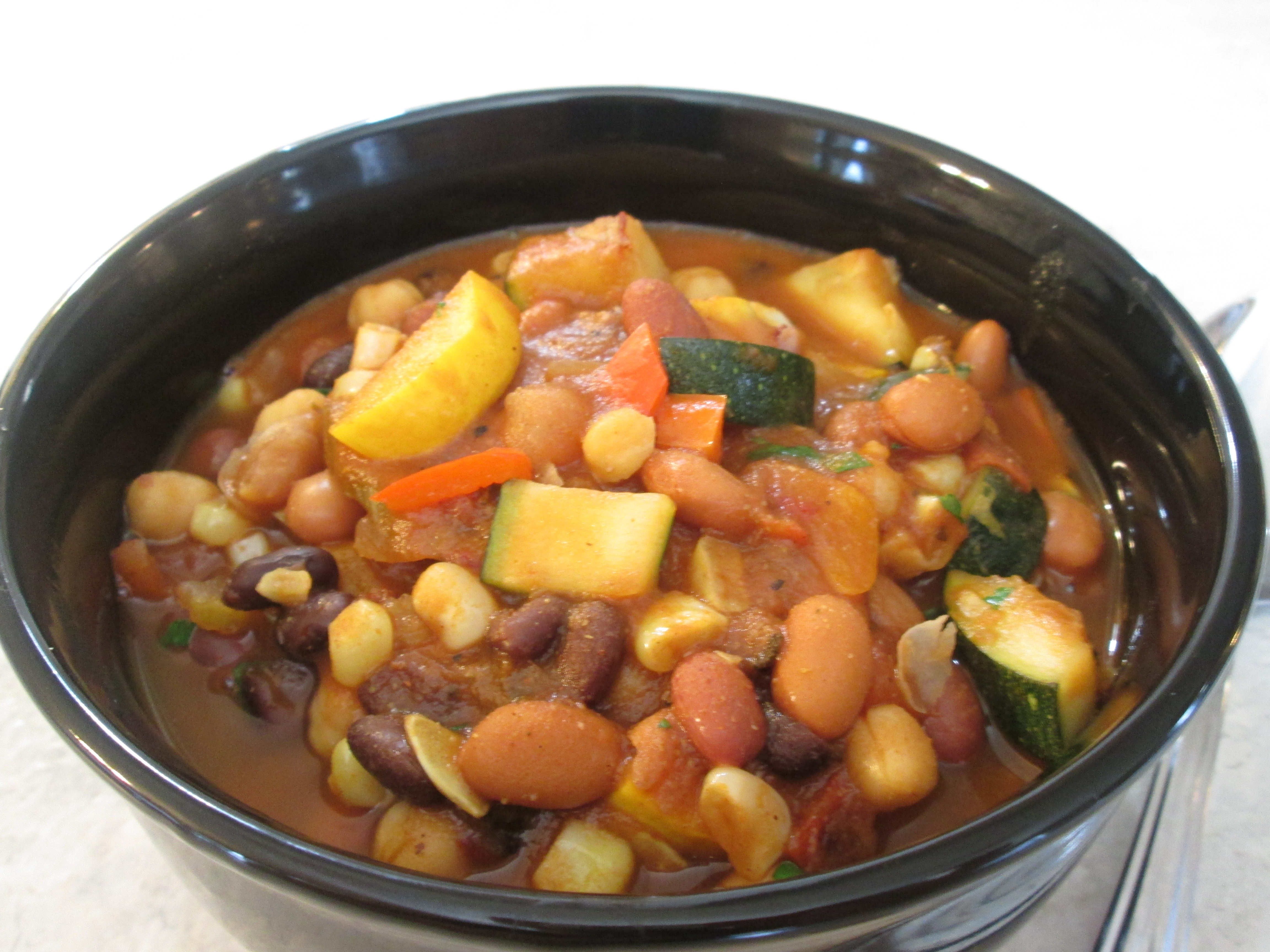 Vegetable Chili with 4 Beans