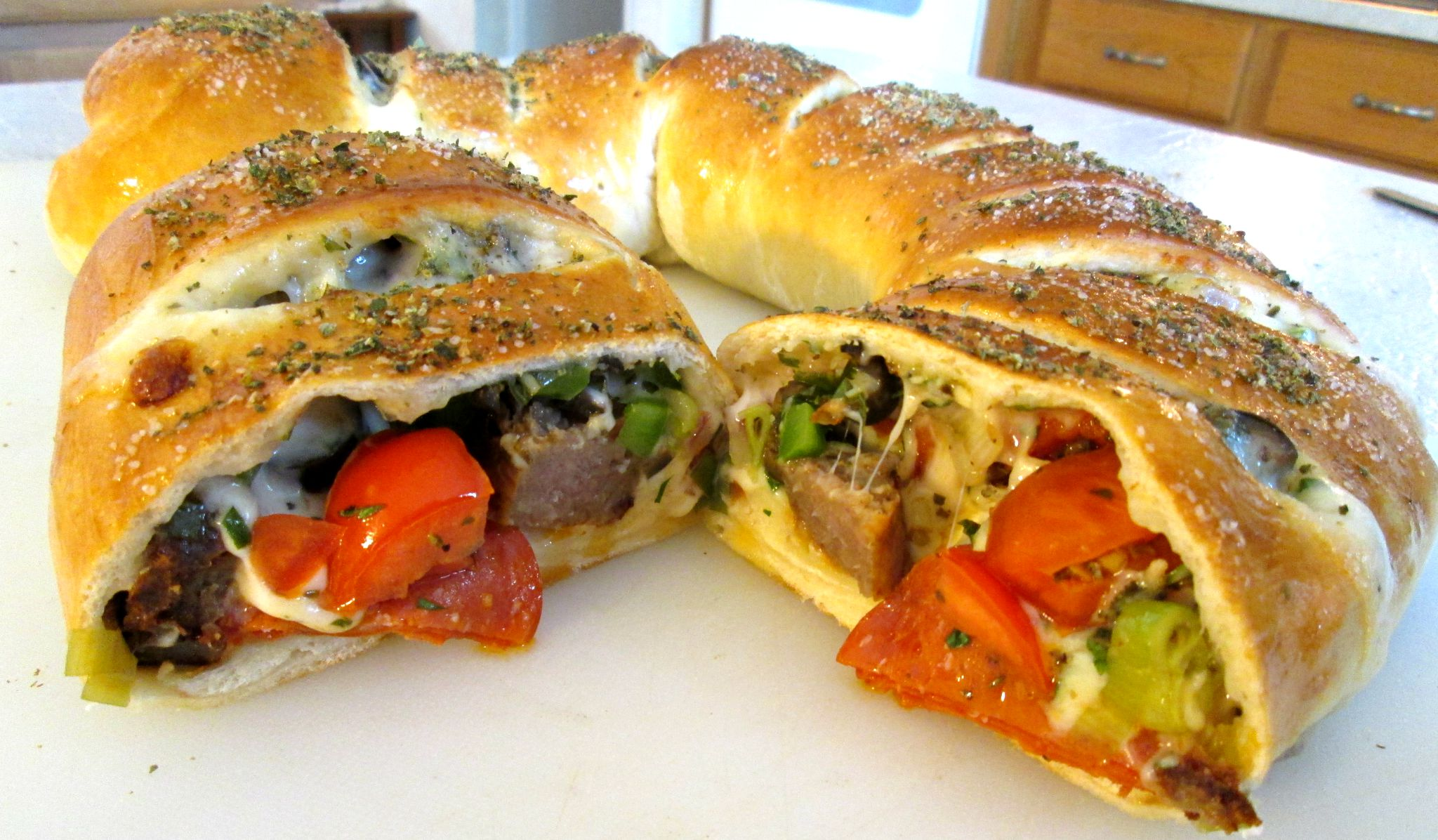 Stromboli Recipe – How to make Stromboli Supreme