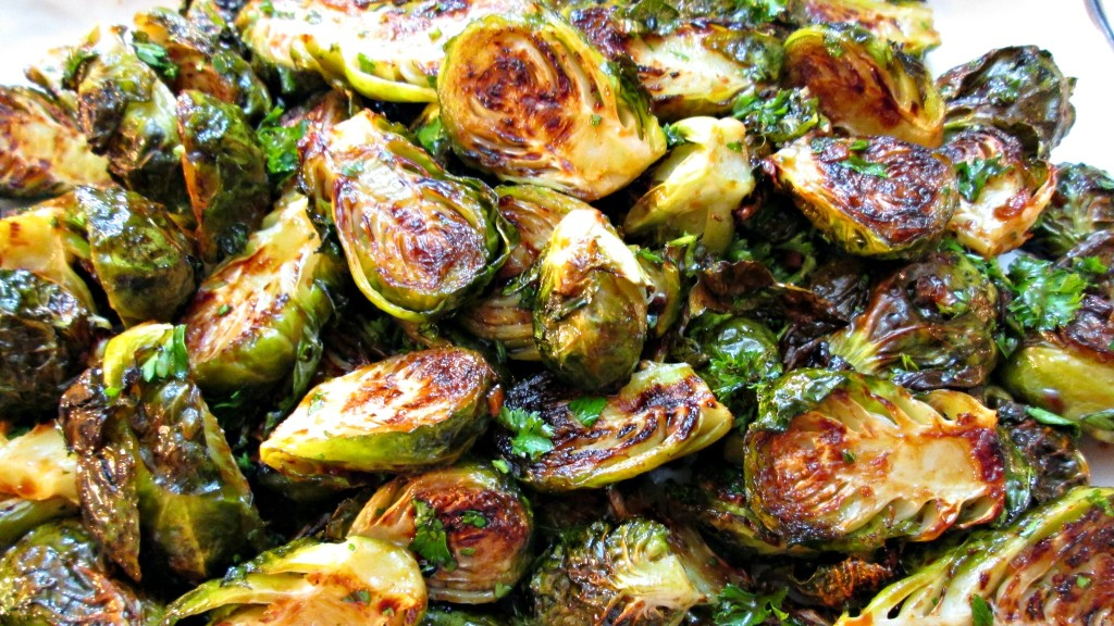 Brussels Sprouts Oven Roasted Sweet And Sour Recipe