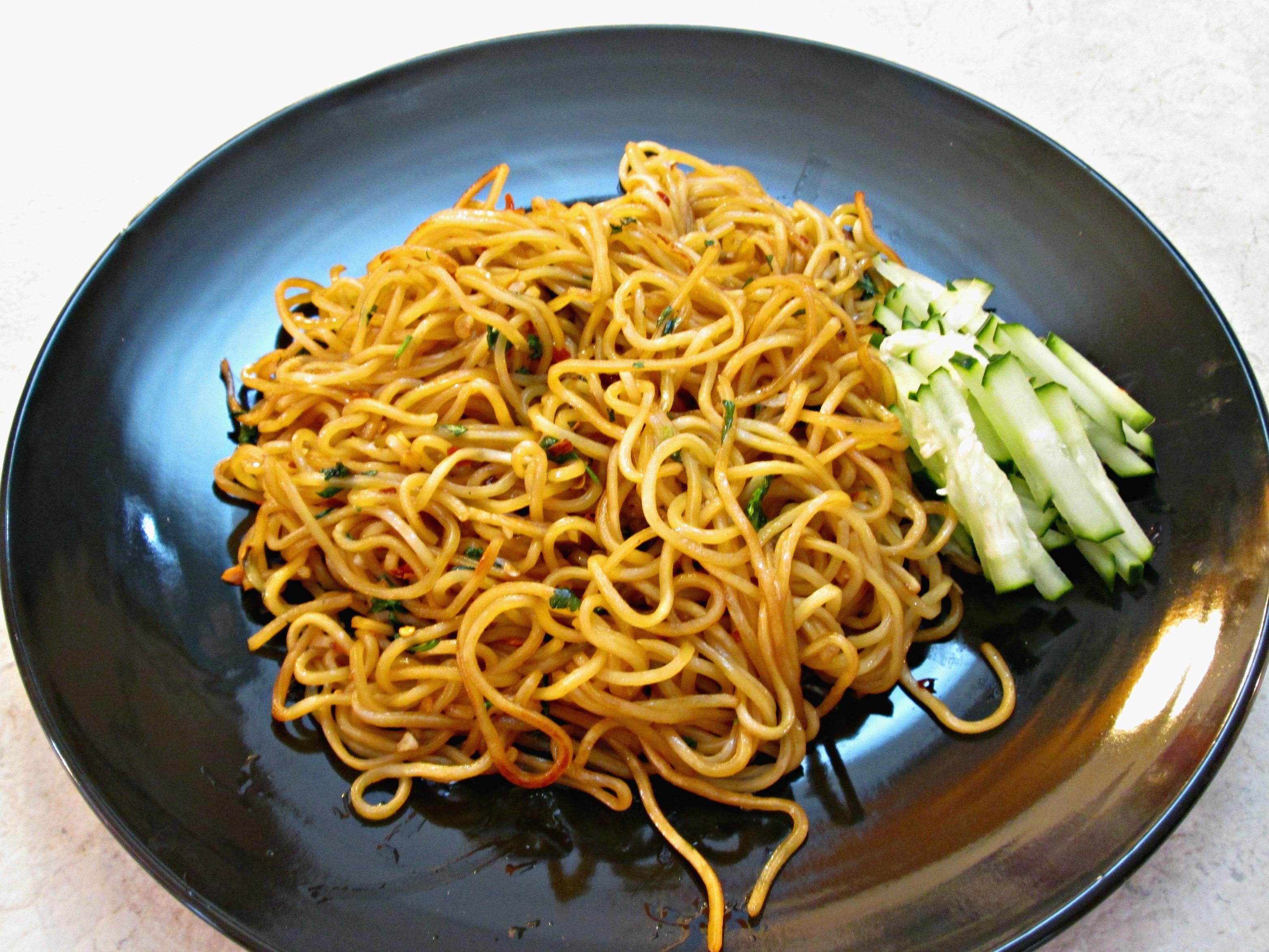 Garlic Noodles Recipe Dishmaps