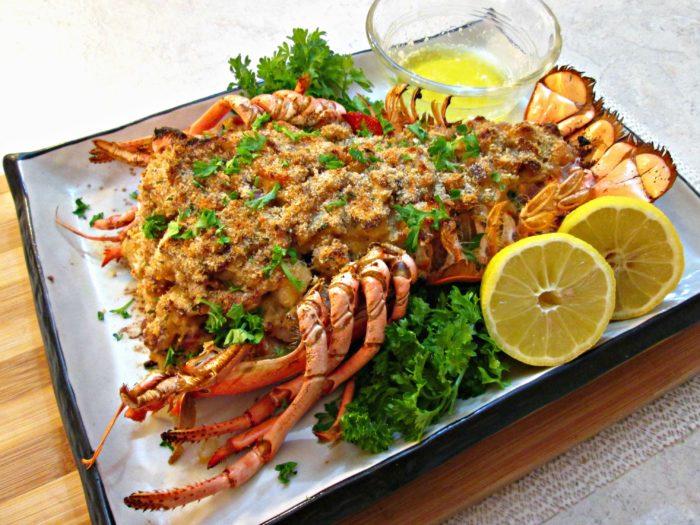 Stuffed Lobster Tail Recipe Food Network