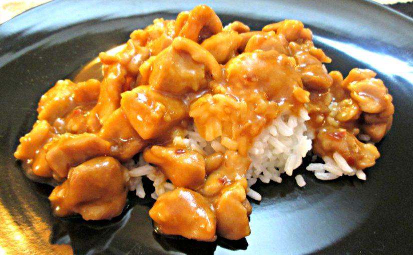 Bourbon Chicken and Sauce Recipe