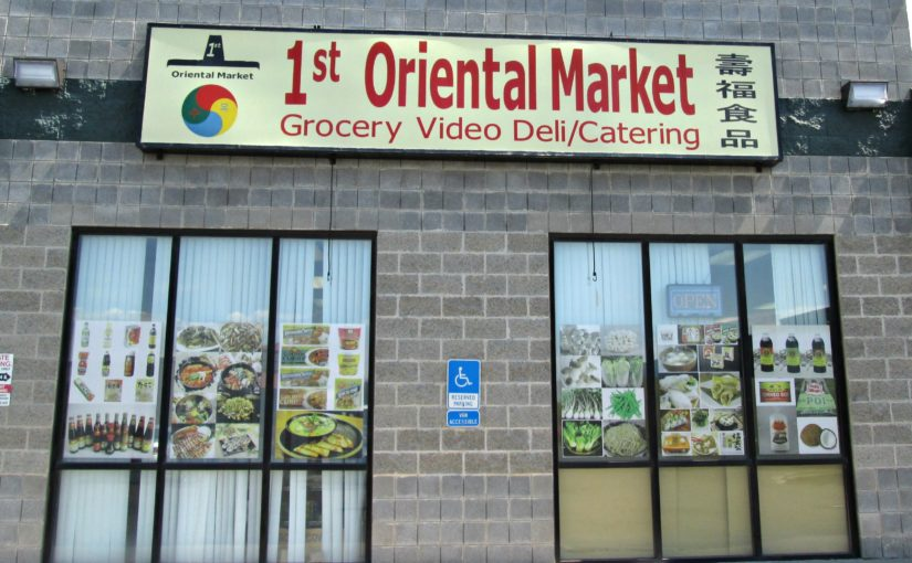 Grocery Shopping – Ingredients for Oriental Recipes