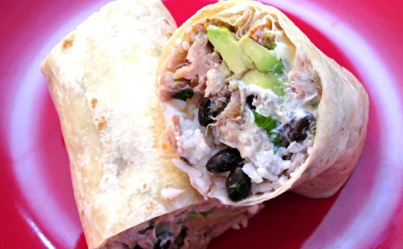 Kalua Pork Burrito