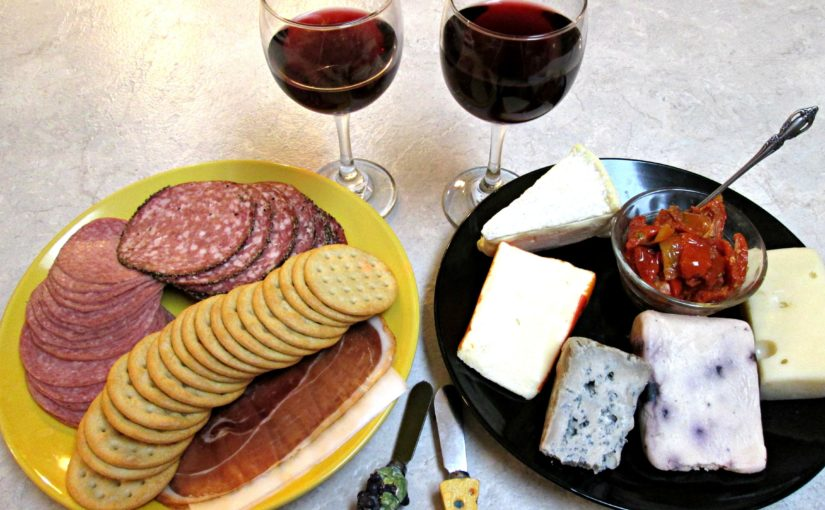 Meat, Cheese and Crackers