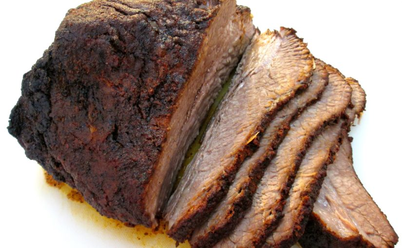 Texas Style Beef Brisket with Rub Recipe