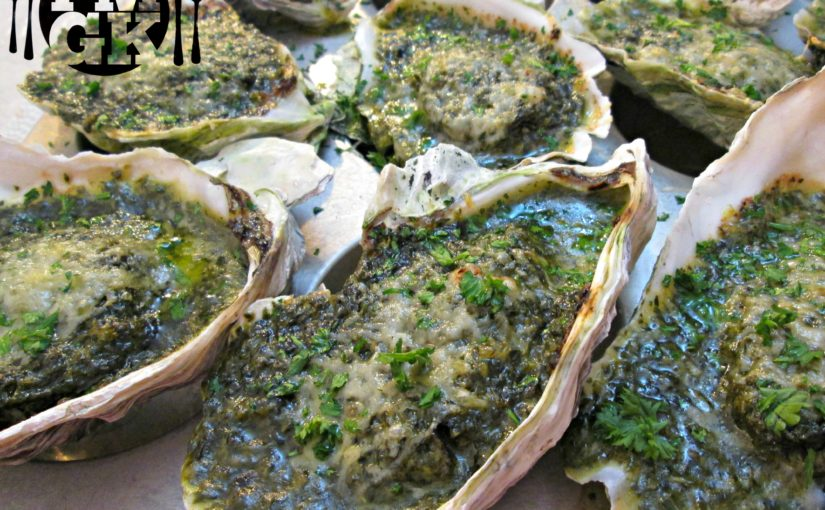 Oysters Rockefeller – Cleaning, Shucking and the Recipe