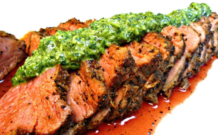 Tri Tip with Chimichurri Sauce