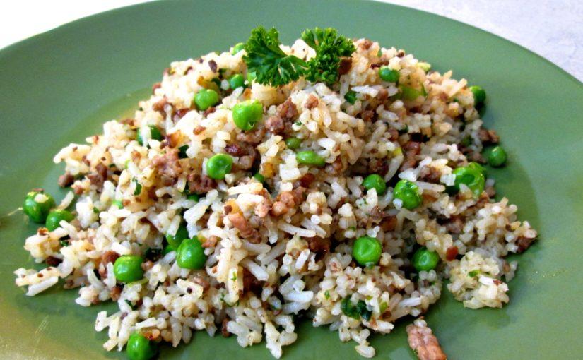 Dirty Rice – Cajun Style Pork Fried Rice