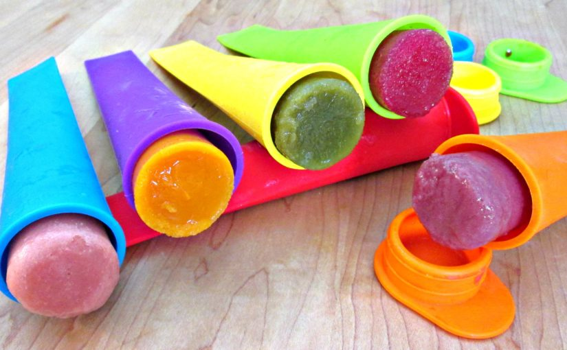 Natural Juice Push Pop Popsicle's