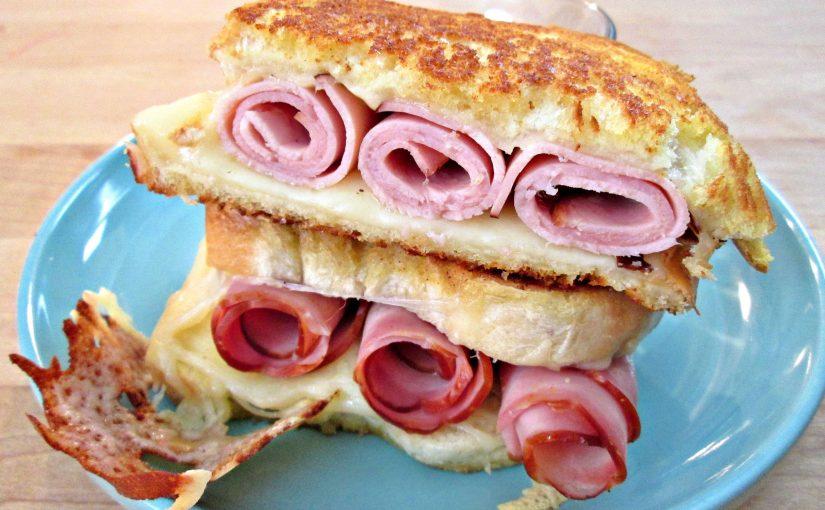 Grilled Ham & Cheese Sandwich