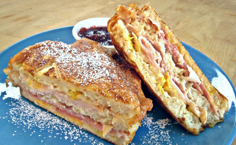 Deep Fried Monte Cristo