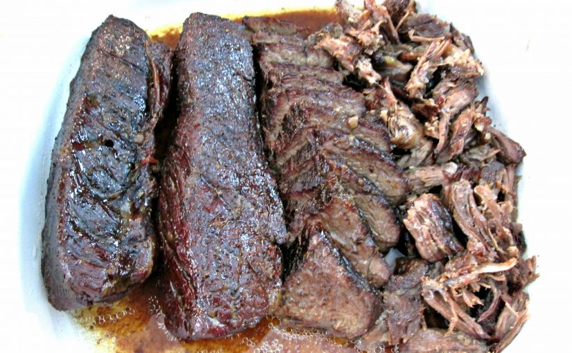 Smoked Country Style Boneless Beef Ribs